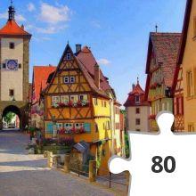 Jigsaw puzzle - Rothenburg am Tauber