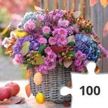 Jigsaw puzzle - zeg het met bloemen