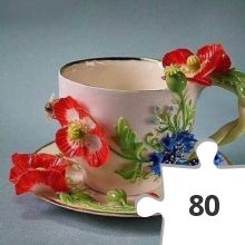 Jigsaw puzzle - Koffie of thee?
