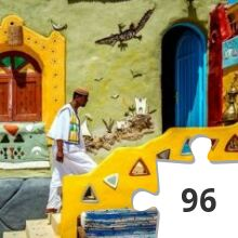 Jigsaw puzzle - Historische Huizen
