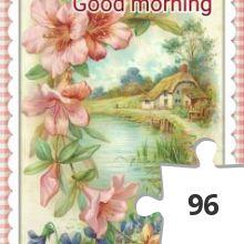 Jigsaw puzzle - Goodmorning Monday