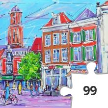 Jigsaw puzzle - Zwolle 2