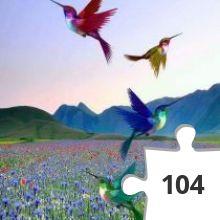 Jigsaw puzzle - de zaterdag vliegt