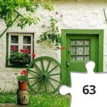 Jigsaw puzzle - Green green
