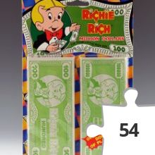 Jigsaw puzzle - Richie Rich Million Dollars