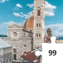 Jigsaw puzzle - florence