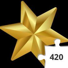 Jigsaw puzzle - Christmas-star-clip-art-biezumd