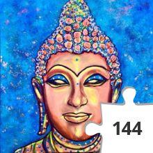 Jigsaw puzzle - fantasie boeddha