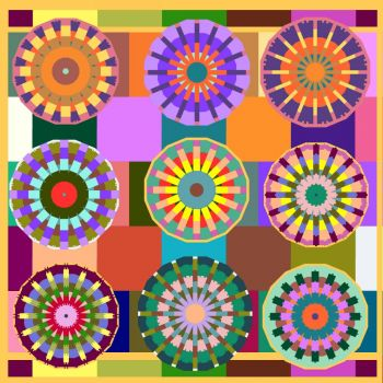 Another Back to Basics Bunch of Kaleidoscopes
