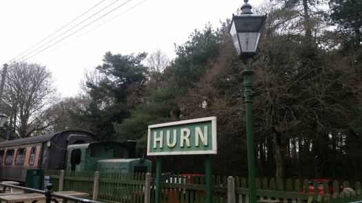 Really Sidetracked Hurn Station