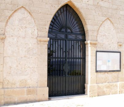 Church door, Portals Nous Majorca